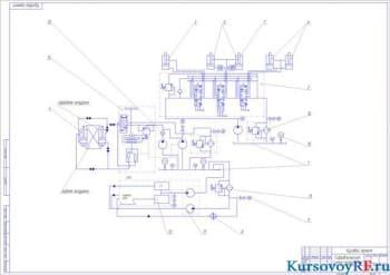 Проектный расчёт одноковшового погрузчика с разгрузочным устройством ковша