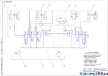 Курсовой проектный расчёт одноковшового погрузчика на базе трактора-тягача Т-150К с применением патентного поиска
