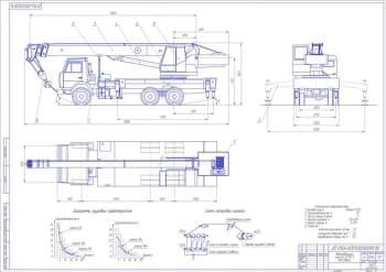 Проект ремонтной мастерской агрофирмы с разработкой технологии ремонта металлоконструкции автокрана КС-55713-1