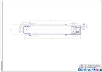 Проектирование гидравлического привода выносных опор автокрана