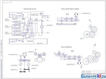 Гидравлический одноковшовый экскаватор ЭО-4121: оборудование рыхлителя