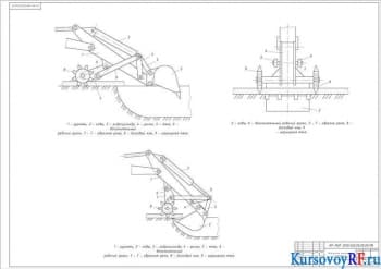 Курсовой проект модернизации экскаватора одноковшового для снижения энергоемкости разрушения асфальтобетонных покрытий