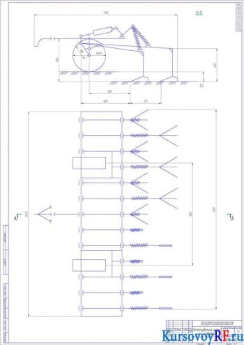 Проектирование культиватора для сплошной обработки почвы
