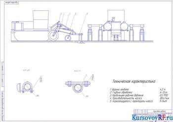 Проектирование рабочего органа для внесения органических жидких удобрений