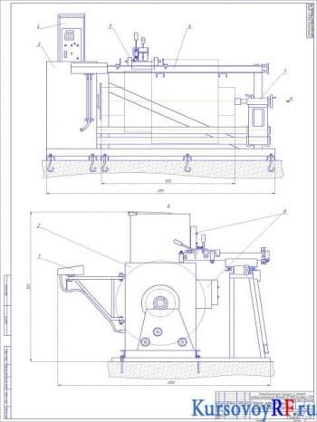Технологический процесс ремонта якоря тягового электрического двигателя ЭД–118А(Б) тепловоза 2ТЭ10М