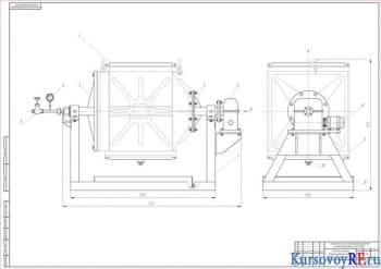 Курсовой проект технологического процесса и ремонта воздушного охладителя системы воздухоснабжения дизеля 10Д100