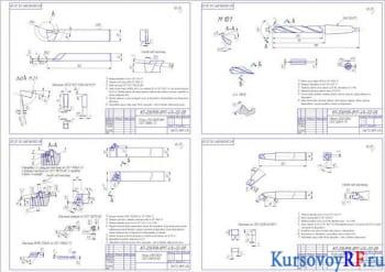Курсовое проектирование приспособления на токарно-револьверный станок и разработка шлицевой фрезы с расчетами
