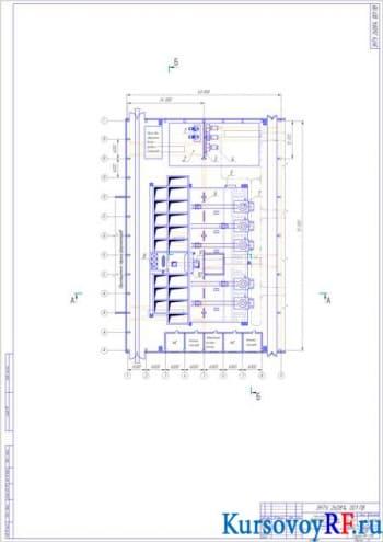 Плавильное отделение и состав шихтовых материалов цеха чугунного литья завода мощностью 25000 т/год