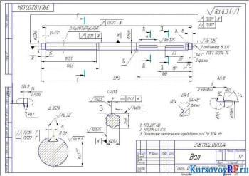 Модернизация привода основного движения на прототипном вертикально-сверлильном станке 2Н135