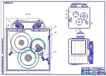 Создание элементов технического и эскизного проекта модуля основного движения станка