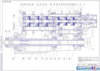 Разработка, модернизация и расчет коробки скоростей металлорежущего станка модификации 262