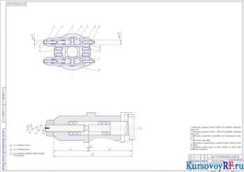 Разработка курсового проекта процесса сборки узла фрезерной головки