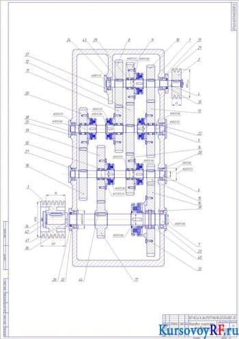 Расчет технических показателей станка: модернизирование привода на примере станка модификации1а616