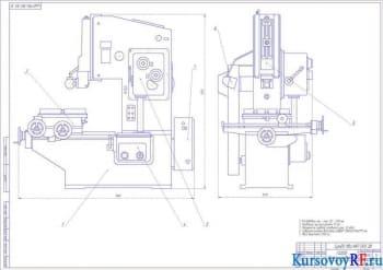 Модернизация привода станка ГД200