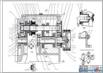 Проектирование и расчет коробки скоростей к токарному операционному станку