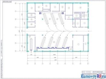 Проектирование автотранспортного предприятия с разработкой рабочего чертежа