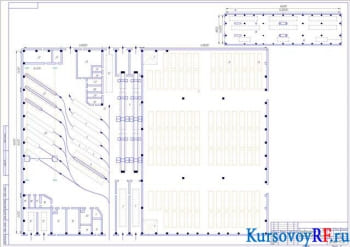 Проект предприятия на обслуживание автомобилей КАМАЗ с прицепом и ЗИЛ