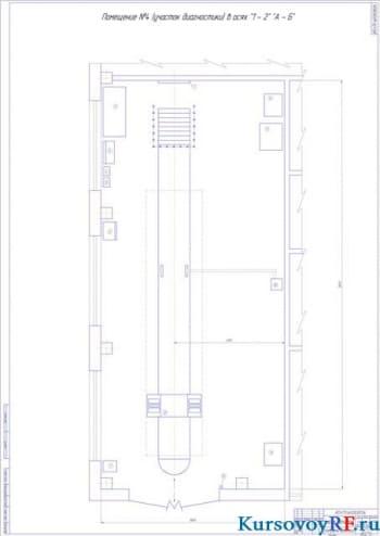 Проектирование технологического плана производственно-технической базы для ТО и ТР 40 машин ПАЗ 3206 и 20 машин НЕФАЗ 5299