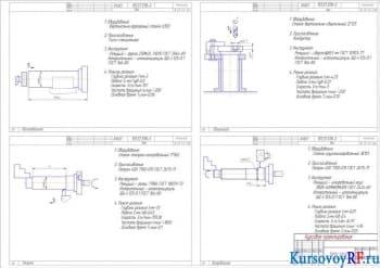 Разработка участка цеха по изготовлению деталей СДМ с проектированием гидравлических тисков