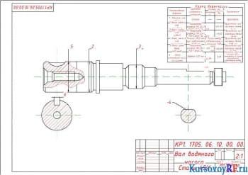 Проект технологического процесса сборки и разборки вала насоса автомобиля КамАЗ с разработкой устройства для запрессовки уплотнения