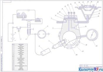 Технологический процесс ремонта системы зажигания ГАЗ 3110