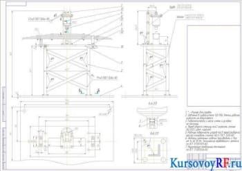 Курсовой проект реконструкции кузнечно-рессорного участка автотранспортного предприятия
