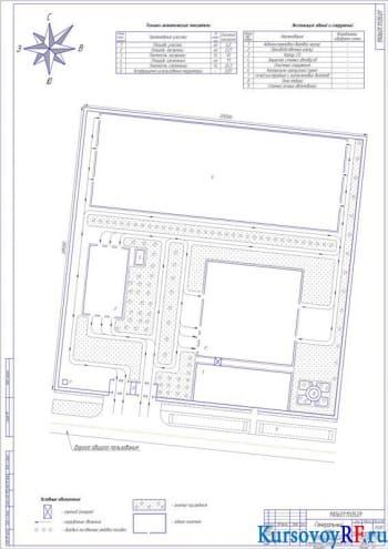 Проект реконструкции малярного отделения АТП