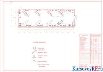 Проектировка зоны ТР для подвижного состава автомобилей УАЗ 2206 с конструктивной разработкой съёмника подшипников коленчатого вала