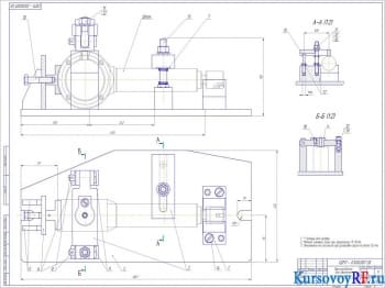 Процесс технологического ремонта гидравлического цилиндра экскаватора – погрузчика DEM-114