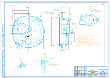 Разработка технологического процесса изготовления корпуса теплообменника - передней крышки водомасляного радиатора