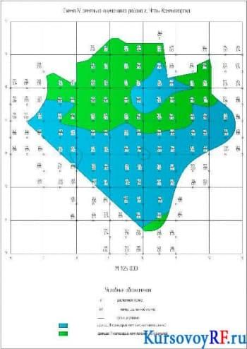 Курсовое исследование способа земельно-оценочного районирования