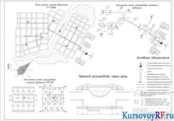 Газоснабжение района города Евпатория курсовая работа