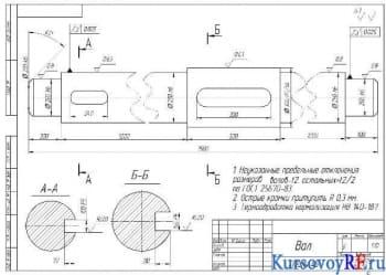Курсовой анализ конструкции и принципа действия шнекового пресса ВПО20А