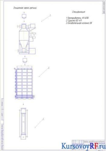 Курсовое проектирование ТМО линии обработки гречишного зерна