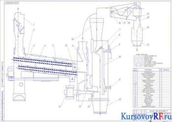 Курсовой расчет ситового сепаратора с разработкой