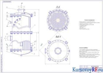 Расчетный проект аппарата вакуум-выпарного
