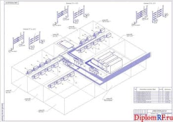 Дипломный проект хладокомбината вместимостью 3000 тонн с комплексом по заморозке смесей овощных