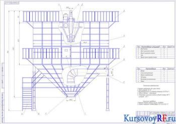 Курсовой расчет и проектирование сушильного аппарата для сушки молока с выработкой 800 кг/ч