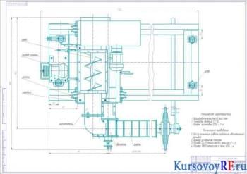 Курсовой расчёт тестоделительной машины