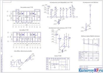 Разработка проекта системы канализации и водоснабжения многоэтажного жилого дома