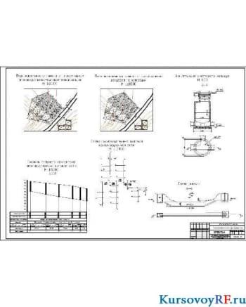 Курсовое проектирование производственно-бытовой и ливневой канализационной сети