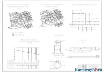 Курсовой расчет и проектирование производственно-бытовой и ливневой канализационной сети