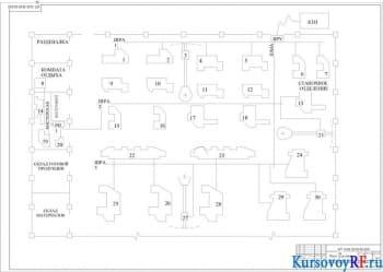 Разработка системы электроснабжения участка цеха машиностроительного завода