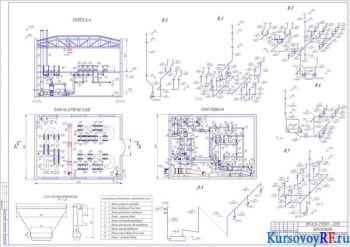 Вентиляция гальванического цеха с конструированием и расчетом проточной системы