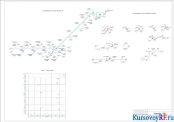 Аксонометричная схема, План-схема
