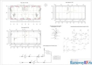 Расчет и проектирование системы вентиляции и отопления