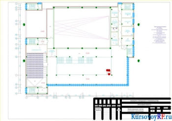 Разработка проекта систем вентиляции и отопления