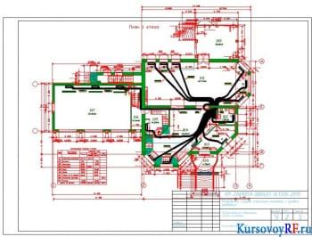 Расчет и проектирование лучевой системы отопления