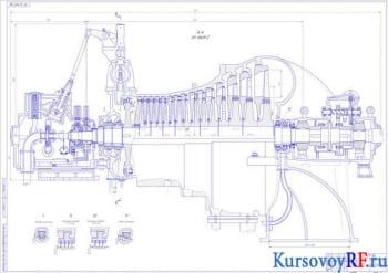Курсовой проект разработки паровой турбины тип К-17-3,8