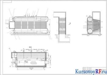 Курсовое проектирование и расчет газомазутного парового котла